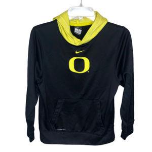 Nike Boy's Black & Yellow Oregon Hoodie - YL